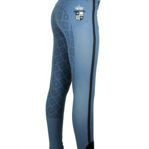 Ridbyxa Equestrian Square Crystal Denim